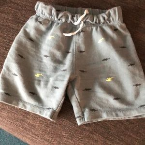 Carter's Bottoms - Carters boys shark shorts bundle of 2 size 24m